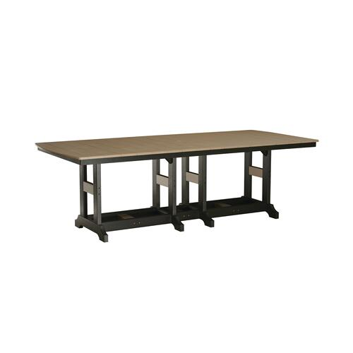 "Garden Classic 44"" x 96"" Rectangular Table - Bar"