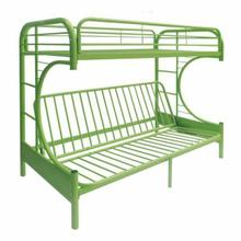 ACME Eclipse Twin/Full/Futon Bunk Bed - 02091W-GR - Green
