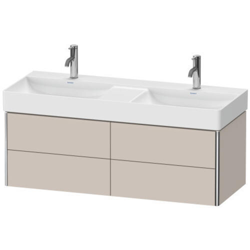 Duravit - Vanity Unit Wall-mounted, Taupe Matte (decor)
