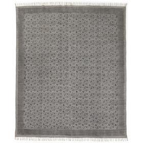 8x10' Size Flatweave Faded Print Rug