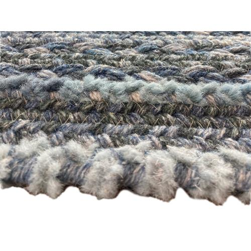 Bayview Slate Braided Rugs (Custom)