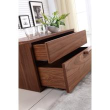 The Dolce Right Side Walnut Veneer Nightstands