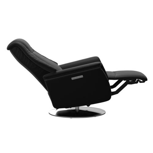 Stressless By Ekornes - Stressless® Max (L) Power with Moon steel base