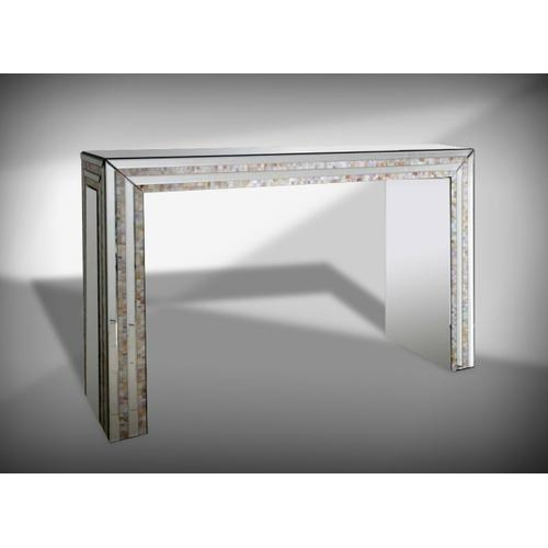 VIG Furniture - Modrest Mirabelle Mirrored Console Table