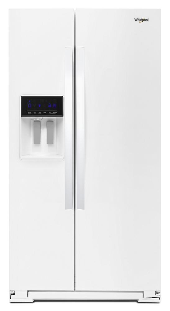 Whirlpool36-Inch Wide Side-By-Side Refrigerator - 28 Cu. Ft.