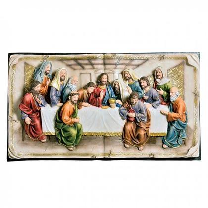 See Details - Homili Last Supper Plaque