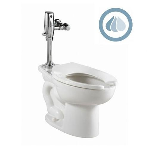 American Standard - Madera ADA EverClean Toilet with Selectronic Battery Flush Valve System - White