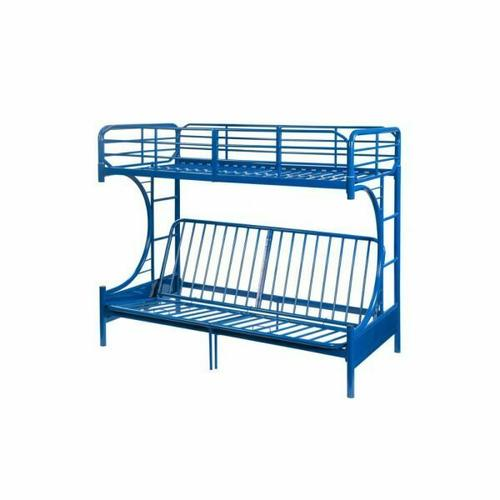 ACME Eclipse Twin/Full/Futon Bunk Bed - 02081BU - Blue