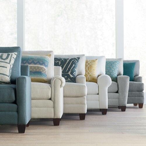 Carolina Panel Arm Studio Sofa