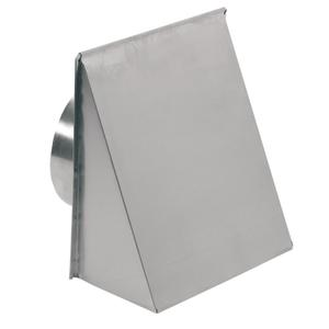 Broan-NuTone® Wall Cap for 8-Inch Round Duct for Range Hoods and Bath Ventilation Fans -