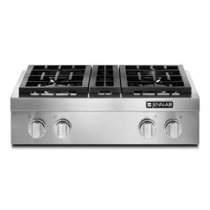 "Jenn-AirPro-Style® 30"" Gas Rangetop Stainless Steel"