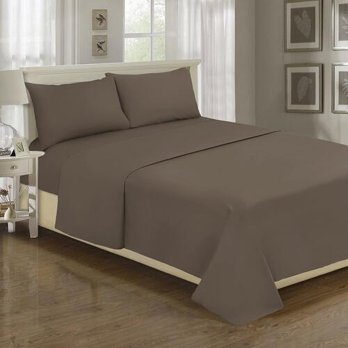 Millano Spa 1200TC Sheet Set - King / Black