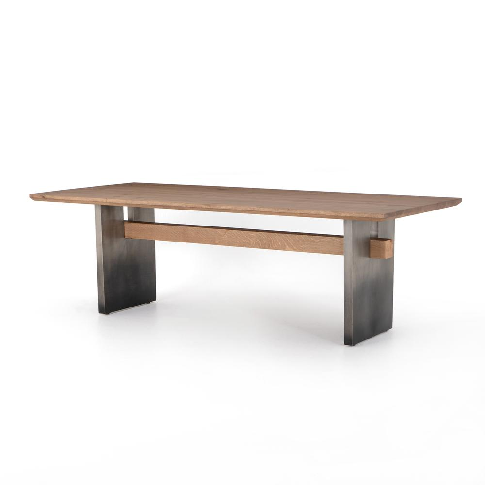 See Details - Dove Oak Finish Brennan Dining Table
