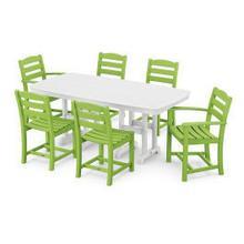 View Product - La Casa Cafu00e9 7-Piece Dining Set in Lime