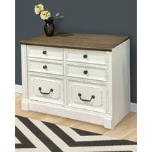 PROVENCE Lateral File with Finished Back