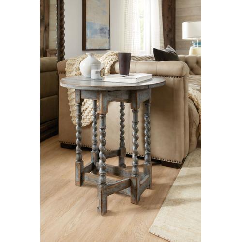 Living Room La Grange Prause Gate Leg Round Table