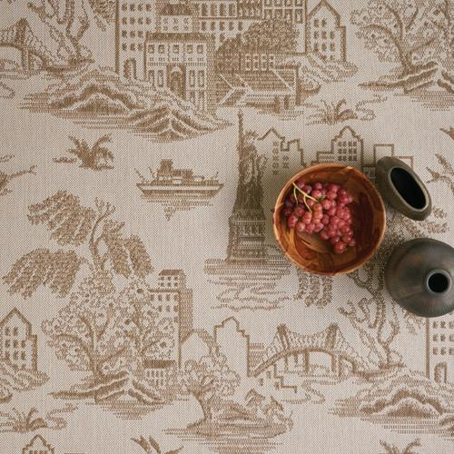 """Gallery - Finesse-NY Toile Barley - Rectangle - 3'11"""" x 5'6"""""""