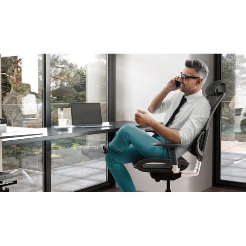 BDI Furniture - Voca 3501 Task Chair in Slate