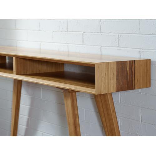 Azara Console Table, Caramelized