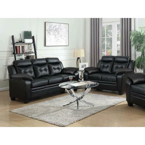 Finley Casual Brown Two-piece Living Room Set