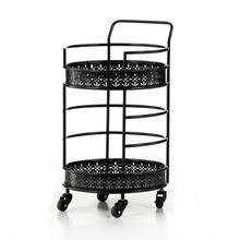 See Details - Vale Bar Cart-worn Black