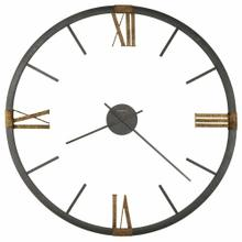 View Product - Howard Miller Prospect Park Metal Oversized Wall Clock 625570