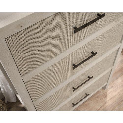 Sauder - 4-Drawer Dresser Chest of Drawers