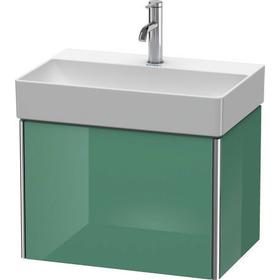 Vanity Unit Wall-mounted Compact, For Durasquare # 235660jade High Gloss (lacquer)