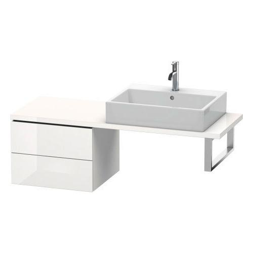 Low Cabinet For Console Compact, White High Gloss (lacquer)
