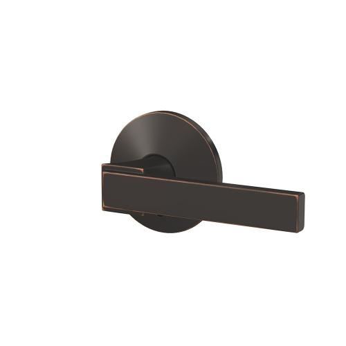 Custom Northbrook Lever with Kinsler Trim Hall-Closet and Bed-Bath Lock - Aged Bronze