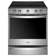View Product - 6.4 cu. ft. Smart Slide-in Electric Range with Scan-to-Cook Technology
