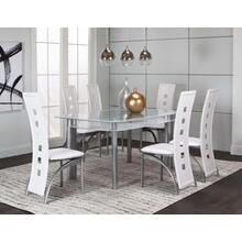 Valencia 36x60 White 7pc Set