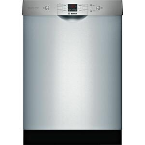 Bosch100 Series Dishwasher 24'' Stainless steel SHEM3AY55N