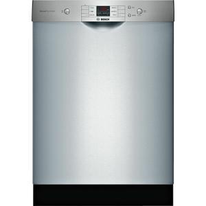 BOSCH100 Series Dishwasher 24'' Stainless steel SHEM3AY55N