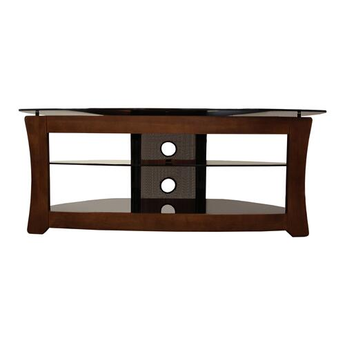 "OSC Design TV A/V Metal and Wood Stand Up to 60"" TV Matching"