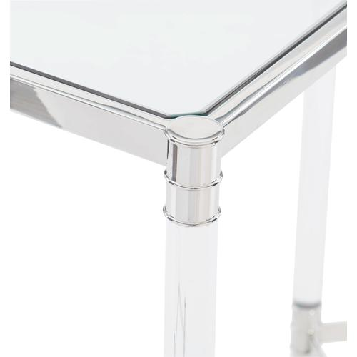 Celine Metal Rectangular Cocktail Table