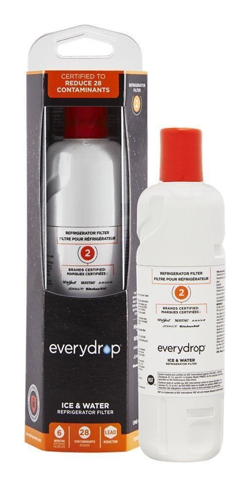 everydrop® Refrigerator Water Filter 2 - EDR2RXD1 (Pack of 1)
