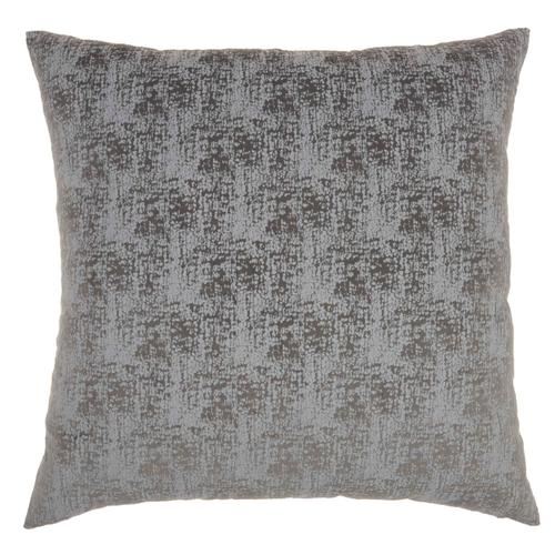 """Life Styles Et438 Charcoal 22"""" X 22"""" Throw Pillow"""