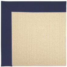 "Creative Concepts-Beach Sisal Canvas Royal Navy - Rectangle - 24"" x 36"""