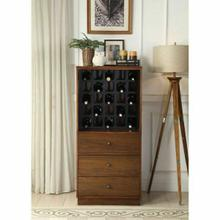 ACME Wiesta Wine Cabinet - 97542 - Walnut