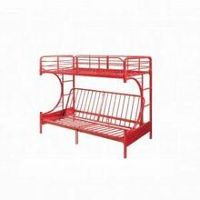 ACME Eclipse Twin/Full/Futon Bunk Bed - 02081RD - Red