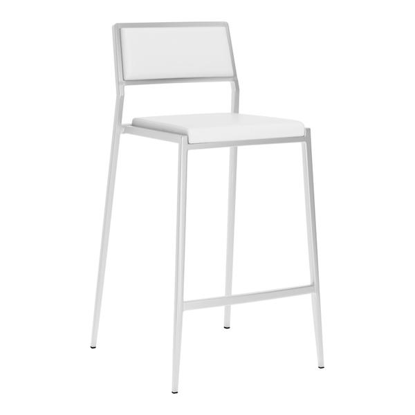 See Details - Dolemite Counter Chair White
