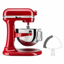See Details - Professional 5™ Plus Series 5 Quart Bowl-Lift Stand Mixer with Flex Edge Beater Bundle - Empire Red