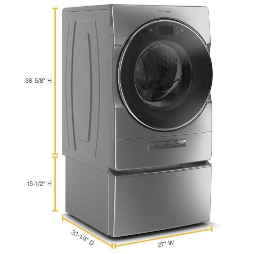 """Whirlpool Canada - 15.5"""" (39.4 cm) Pedestal for Front Load Washer and Dryer with Storage"""