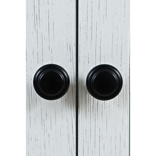 Carrington Large Breakfront Cabinet - White