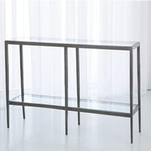 See Details - Laforge Console-Iron/Braised Brass