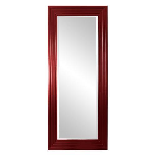 Howard Elliott - Delano Mirror - Glossy Burgundy