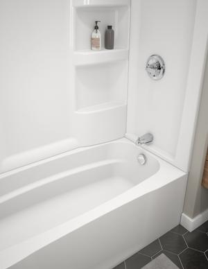 White ProCrylic 60 in. x 30 in. Right Hand Tub Product Image