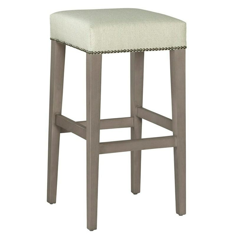 7435 Jaxon Bar Stool with Nailheads