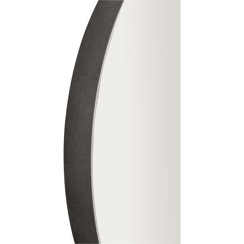 Bernhardt - Oakley Round Metal Mirror in Gray Mist